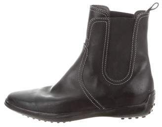 Tod's Pointed-Toe Ankle Boots