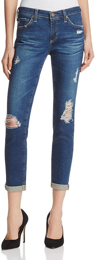 AG JeansAG Stilt Roll Up in 10 Years Revealed