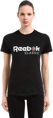 Reebok Classics Classic Logo Cotton Jersey T-Shirt