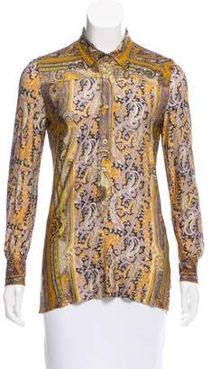 Isabel Marant Paisley Print Button-Up Top
