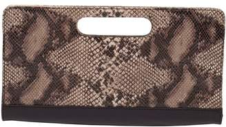 Humawaca Reptile Leather Clutch
