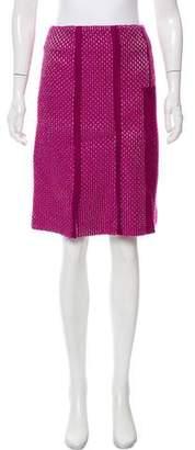 Thakoon Textured Knee-Length Skirt