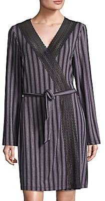 Saks Fifth Avenue Women's COLLECTION Lori Striped Robe