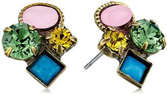 Sorrelli Happy Birthday Small Cluster Stud Earrings
