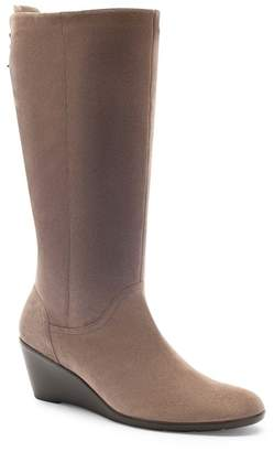 Blondo Larissa Waterproof Wedge Knee High Boot