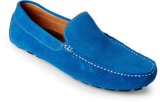 N. Zanzara Royal Picasso Suede Loafers