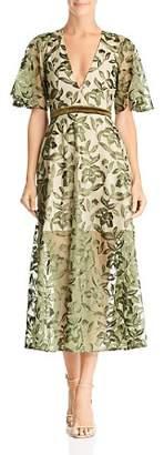 Lee SAU Lucia Embroidered Dress