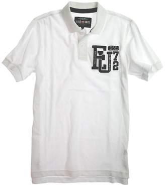 Ecko Unlimited Unltd. Mens Left Chest Eu 72 Rugby Polo Shirt Blchwhite M