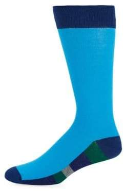 Bruno Magli Color Block Socks