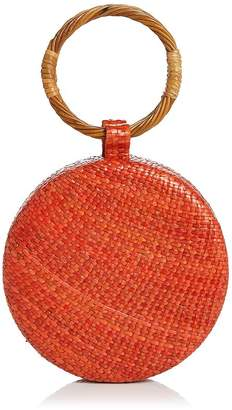 SERPUI Serena Wicker Circle Bag