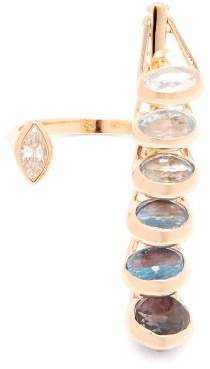 Marie Mas - Dancing 18kt Rose Gold Open Ring - Womens - Pink
