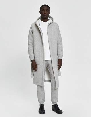 Wings + Horns Wings+Horns Cabin Fleece Robe in Concrete