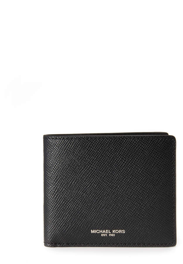 MICHAEL Michael Kors Michael Kors Harrison Leather Billfold
