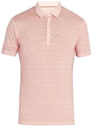 120% Lino 120 LINO Linen jersey polo shirt