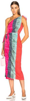 Mara Hoffman Bette One Shoulder Dress