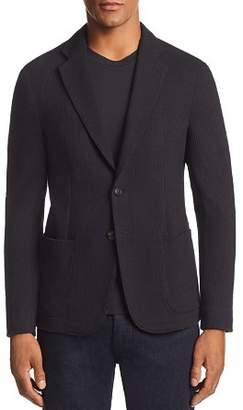 Emporio Armani Textured Regular Fit Soft Jacket