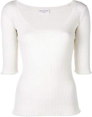Sonia Rykiel scoop neck pullover