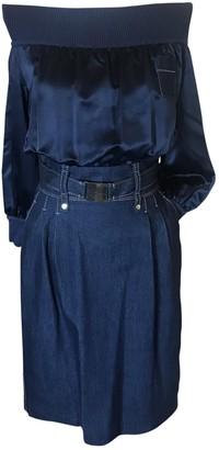 Adolfo Dominguez Blue Dress for Women