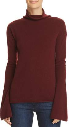 Theory Bell-Sleeve Cashmere Sweater