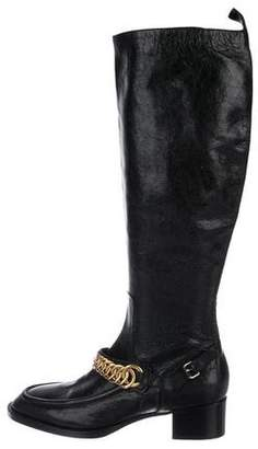 Balenciaga Leather Knee-Length Boots