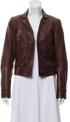 Chloé Leather Casual Jacket