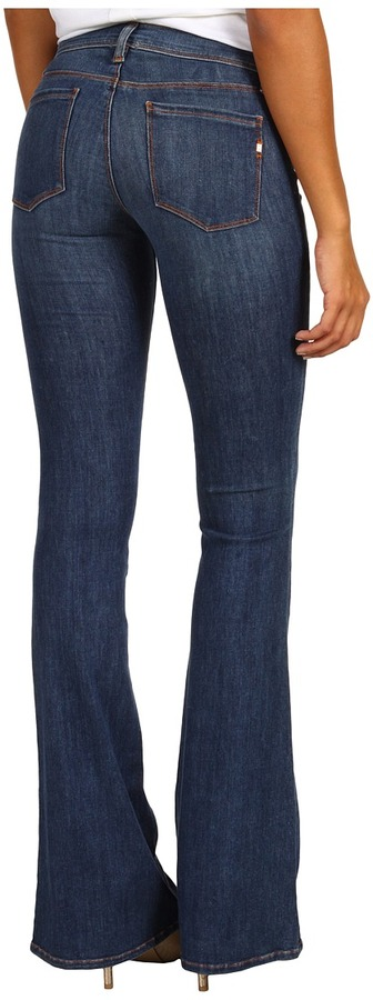 Genetic Denim The Shelby Patch Pocket Flare in Pool (Pool) - Apparel