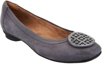 Clarks Artisan Leather Ballet Flats - Candra Blush