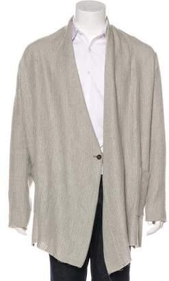 Damir Doma Oversize Open-Front Kimono Cardigan