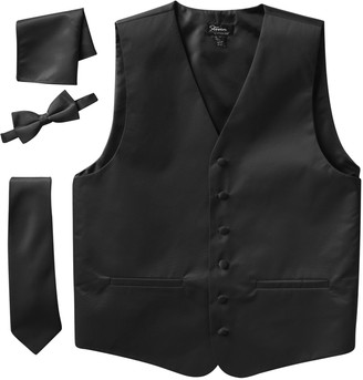 DAY Birger et Mikkelsen Men's Steven Land Solid 4-pc. Vest Set
