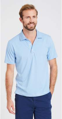 J.Mclaughlin Fairhope Performance Polo in Stripe
