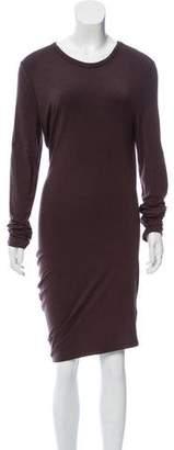 Alexander Wang Asymmetrical Midi Dress w/ Tags