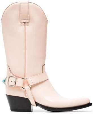 Calvin Klein Powder Tex Tammy 50 Leather Boots