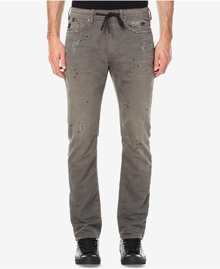 Buffalo David Bitton Men's Zoltan-X Stretch Distressed Jogger Pants