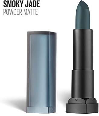 Maybelline New York Color Sensational Green Lipstick Powder Matte Lipstick