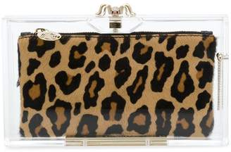 Charlotte Olympia see-through clutch