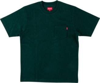 Supreme/Pocket Tee - 'FW 17' - Heather Dark Green