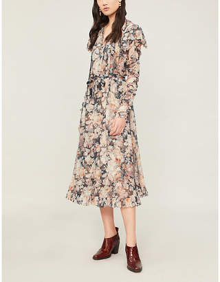 Zimmermann Tempest Frolic crepe dress