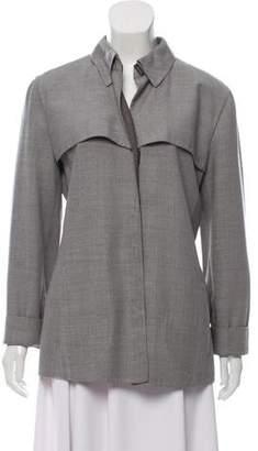 Armani Collezioni Lightweight Virgin Wool Jacket
