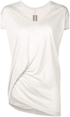 Rick Owens long satin T-shirt