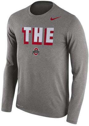 Nike Men's Ohio State Buckeyes Dri-Blend Long Sleeve T-Shirt