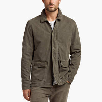 James Perse RIGID JERSEY FIELD JACKET