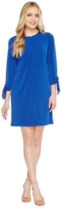 Christin Michaels - Tani Tie Sleeve Shift Dress Women's Dress $74 thestylecure.com
