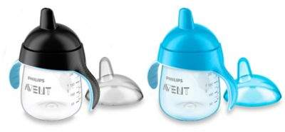 Philips Avent My Penguin 2-Pack 9 oz. Sippy Cup in Blue/Black