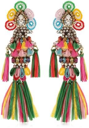Shourouk Parrots Multi Clip-On Earrings