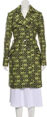 Versus Virgin Wool Double-Breasted Coat