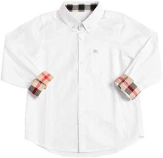 Burberry Cotton Oxford Shirt