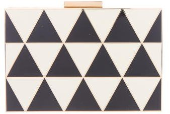 Valentino Valentino Triangle Box Clutch