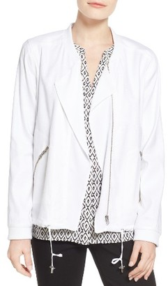 Women's Nydj Draped Front Jacket $168 thestylecure.com