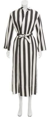 Joseph Maxi Wrap Dress