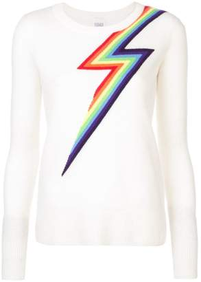 Madeleine Thompson rainbow pattern sweater